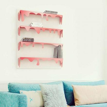 Modern design modular bookcase Kolata 90x110 (4 shelves)