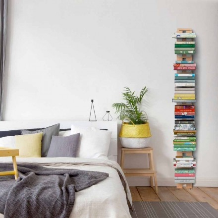 Wall-mounted modern bookcase Zia Ortensia