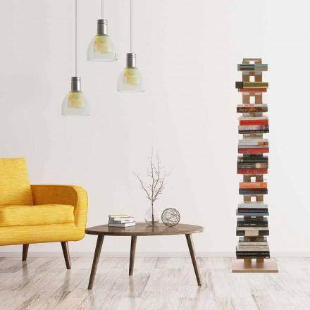 Free standing designer bookcase Zia Ortensia