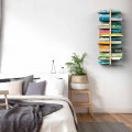 Suspended wall-mounted modern bookcase Zia Bice