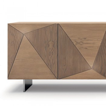 Ash Wood Sideboard Handcrafted in Italy - Superb