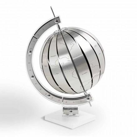 Modern design table globe World, made in Italy