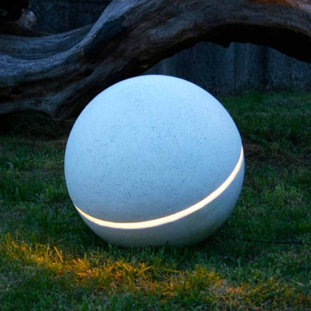 Sphera sphere-shaped LED lighting marble with 1 slit