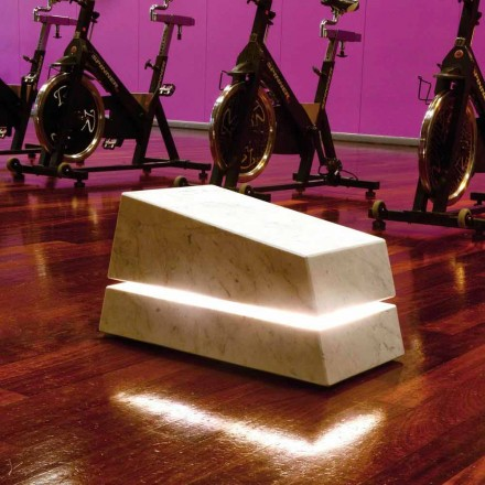 Illuminating marble complete with Minimal Sound speaker