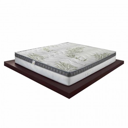 Luxury Memory Double Mattress 25 cm high Made in Italy - Idea