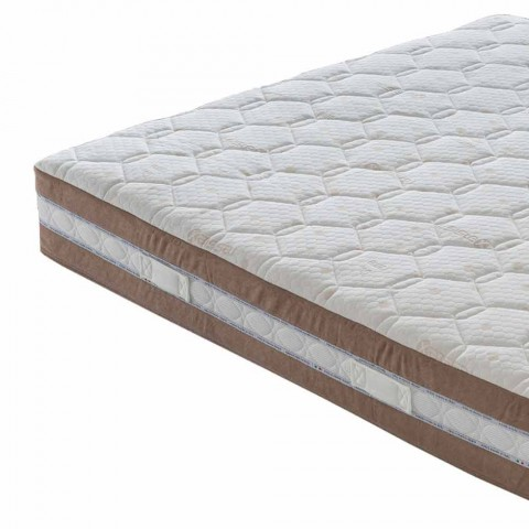 Memory Xform Double Mattress 25 cm high Made in Italy - Charcoal