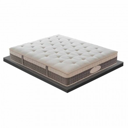 Single Memory Mattress of Excellent Quality H 25 cm Made in Italy - Silvestro