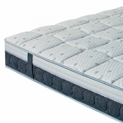 One and a Half Mattress in Memory and Carbon Resistex Made in Italy - Villa