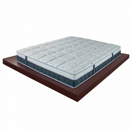 25 cm high and medium mattress in memory made in Italy quality - Villa