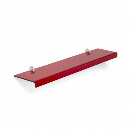 Modern design shelf Maren, made of methacrylate, 75x15 cm