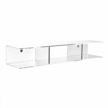 Modern design wall shelf in methacrylate Taira