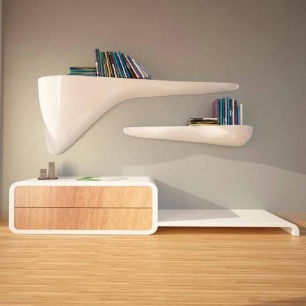 Modern design shelf made in Italy, Sizzano