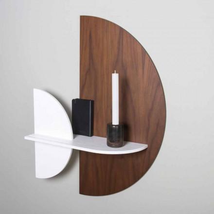 Modular Shelf Elegant and Modern Design in Painted Plywood - Amnesia