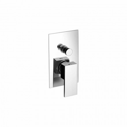Built-in Shower or Bathtub Mixer Modern Design Made in Italy - Panela
