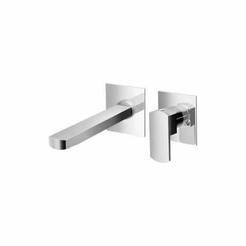 Brass Wall Mounted Washbasin Mixer Made in Italy - Sika