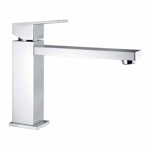 Bathroom basin mixer with spout 170 mm center distance Made in Italy - Medida