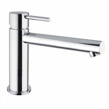 Brass basin mixer with spout 170 mm center distance Made in Italy - Ermia
