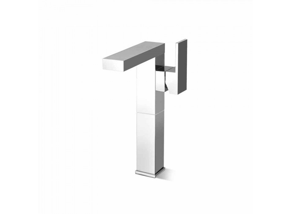 Bathroom Sink Mixer with Side Lever Made in Italy - Panela