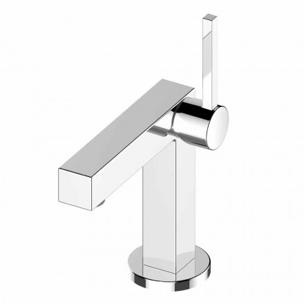 Bathroom Sink Mixer in Brass Chrome Finish, High Quality - Girino