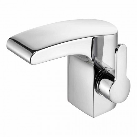 Luxury Single-Lever Bathroom Basin Chrome Finish - Gonzo