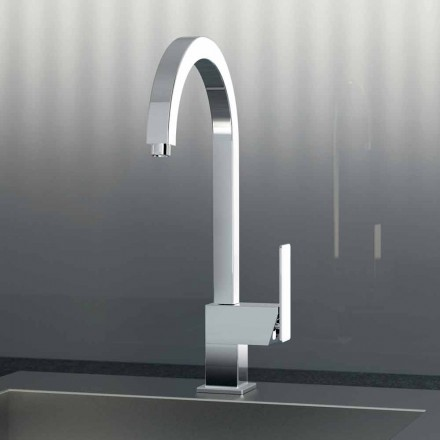 Single lever mixer for modern kitchen sink Made in Italy - Bonsu