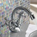 Classic Single-Hole Bidet Mixer in Brass Made in Italy - Elisea