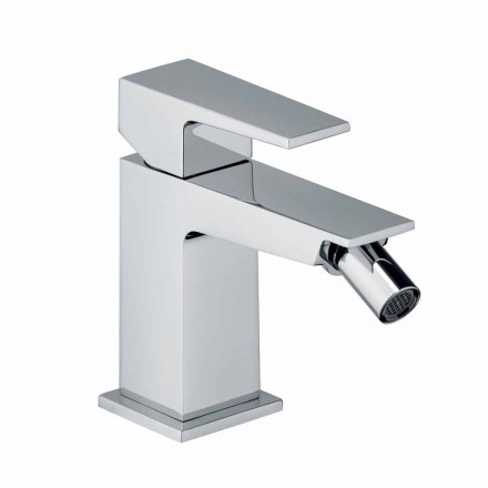 Bidet Mixer with Chrome Finish Drain Made in Italy - Galla