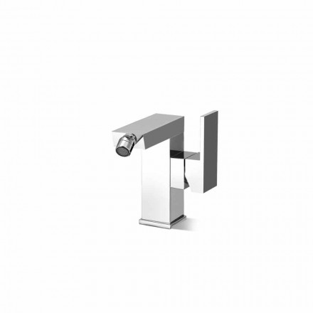 Side Lever Bidet Mixer Without Drain Made in Italy - Panela