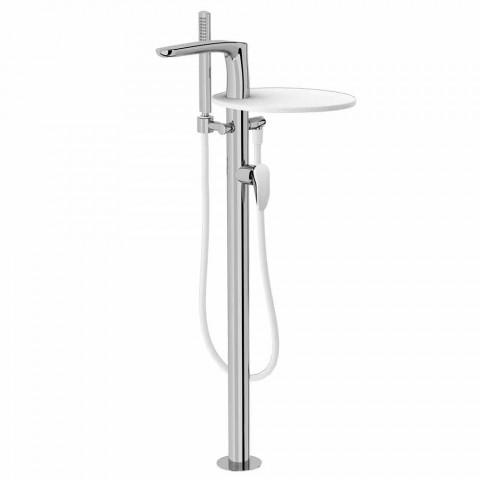 Bathtub Deck Mixer in Brass of Made Italy Design - Benello