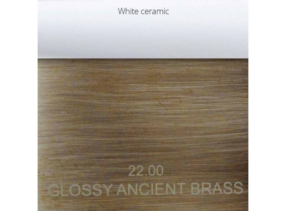 Classic Brass Bathtub Mixer Made in Italy - Eripio