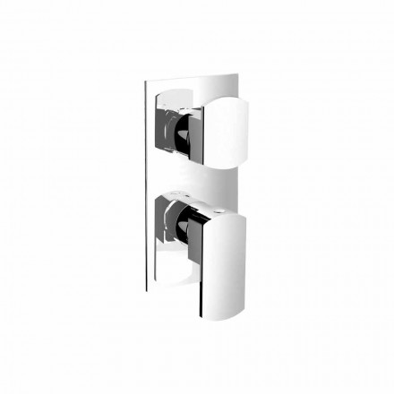 Shower mixer with three outlets diverter Made in Italy - Sika