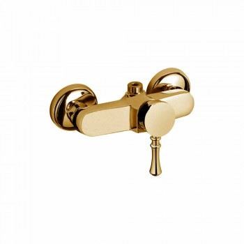 Brass Shower Mixer Made in Italy - Neno
