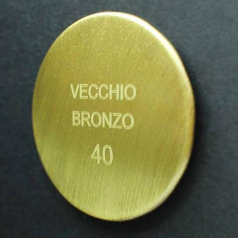 Brass Wall Mounted Basin Mixer Made in Italy - Neno