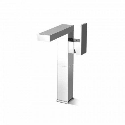 Made in Italy Design Bathroom Sink Mixer with Side Lever - Panela