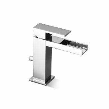 Bathroom Sink Mixer with Brass Drain Made in Italy - Bibo