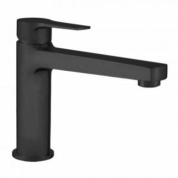 Bathroom Sink Mixer with Brass Drain Made in Italy - Sindra