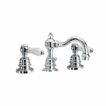 3-Hole Brass Bathroom Sink Mixer Made in Italy - Binsu