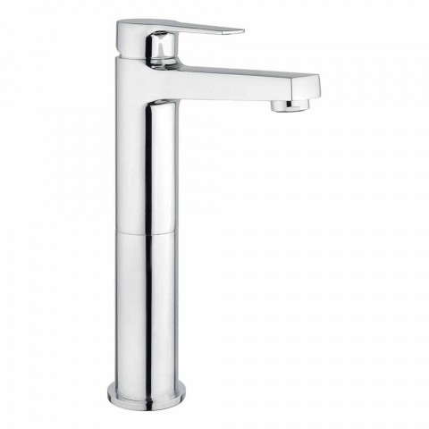 Bathroom Basin Mixer Without Drain in Brass Made in Italy - Sindra