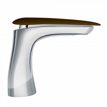 Countertop Washbasin Mixer in Brass Made in Italy - Miriade