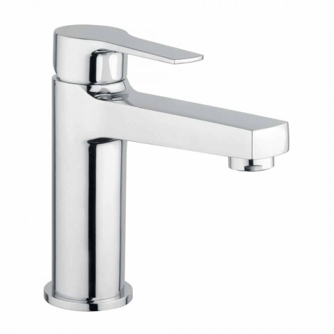 Brass Bathroom Sink Mixer Without Drain Made in Italy - Sindra