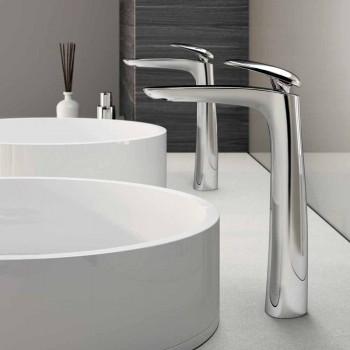 Brass Design Washbasin Mixer Made in Italy - Filipo