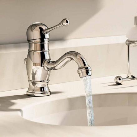 Washbasin mixer in chromed brass 150 mm high Made in Italy - Binsu