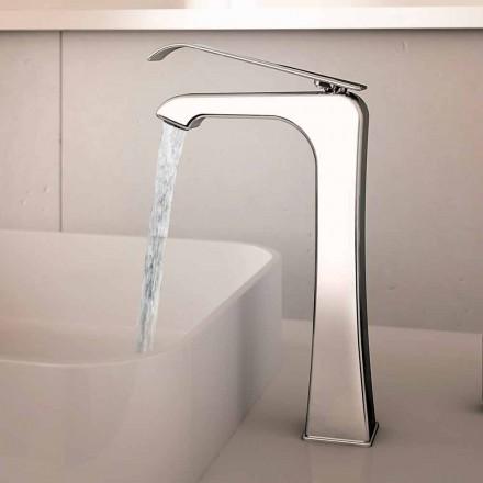 Made in Italy Design Chrome Brass Basin Mixer - Bonina