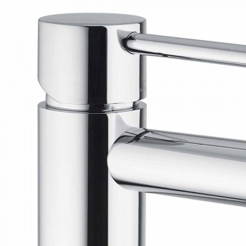 Brass Basin Mixer Chrome Finish Made in Italy - Ermia