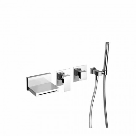Made in Italy Design Built-in Bathtub Mixer - Panela