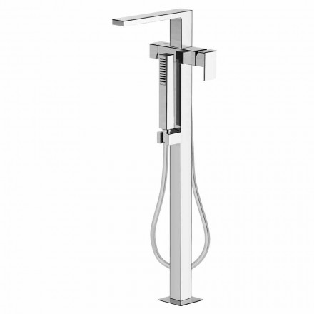 Modern Floor Bath Mixer Made in Italy - Pirio