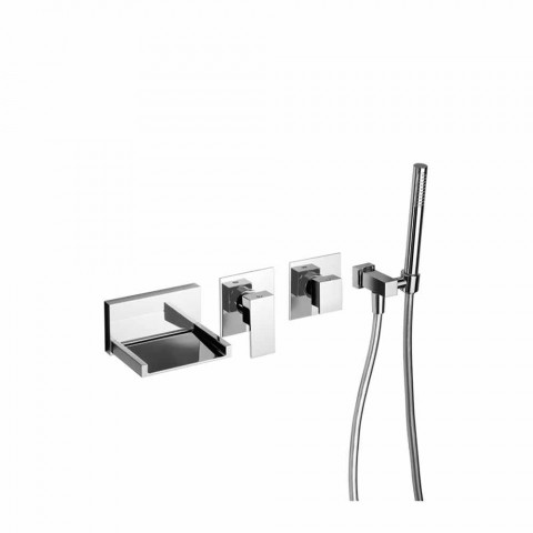 Built-in Bath Mixer with Shower Kit Made in Italy - Bibo