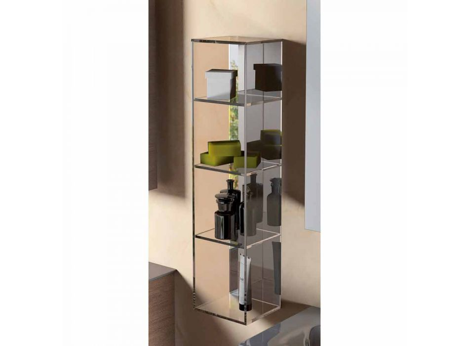 Container cabinet 3 modern design compartments, L180xH900 mm, Adelia