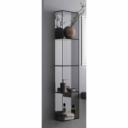 Adelia bathroom cabinet with 4 shelves, L300x H1400 mm