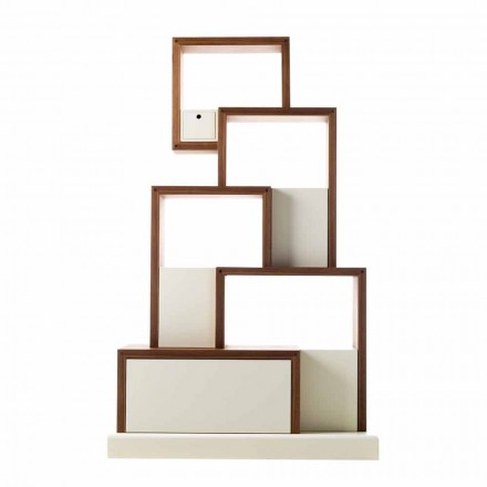 Grilli My Cat modern design wooden storage furniture made in Italy